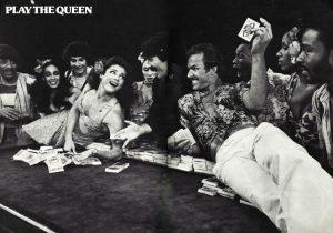 Uma das fotos do raro programa de luxo